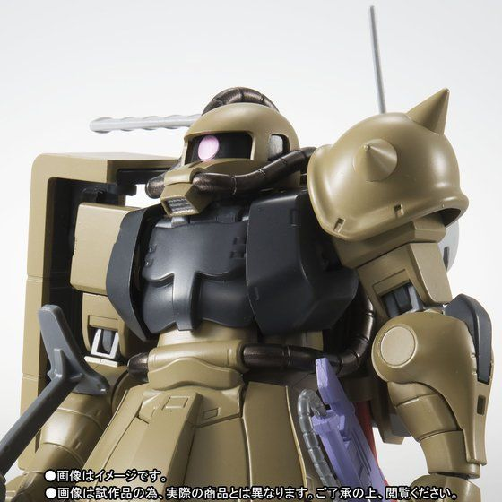 Robot Damashi MS-06F Zaku Mine Layer Ver A.N.I.M.E TamashiWeb Exclusive (มัดจำ 500 บาท)
