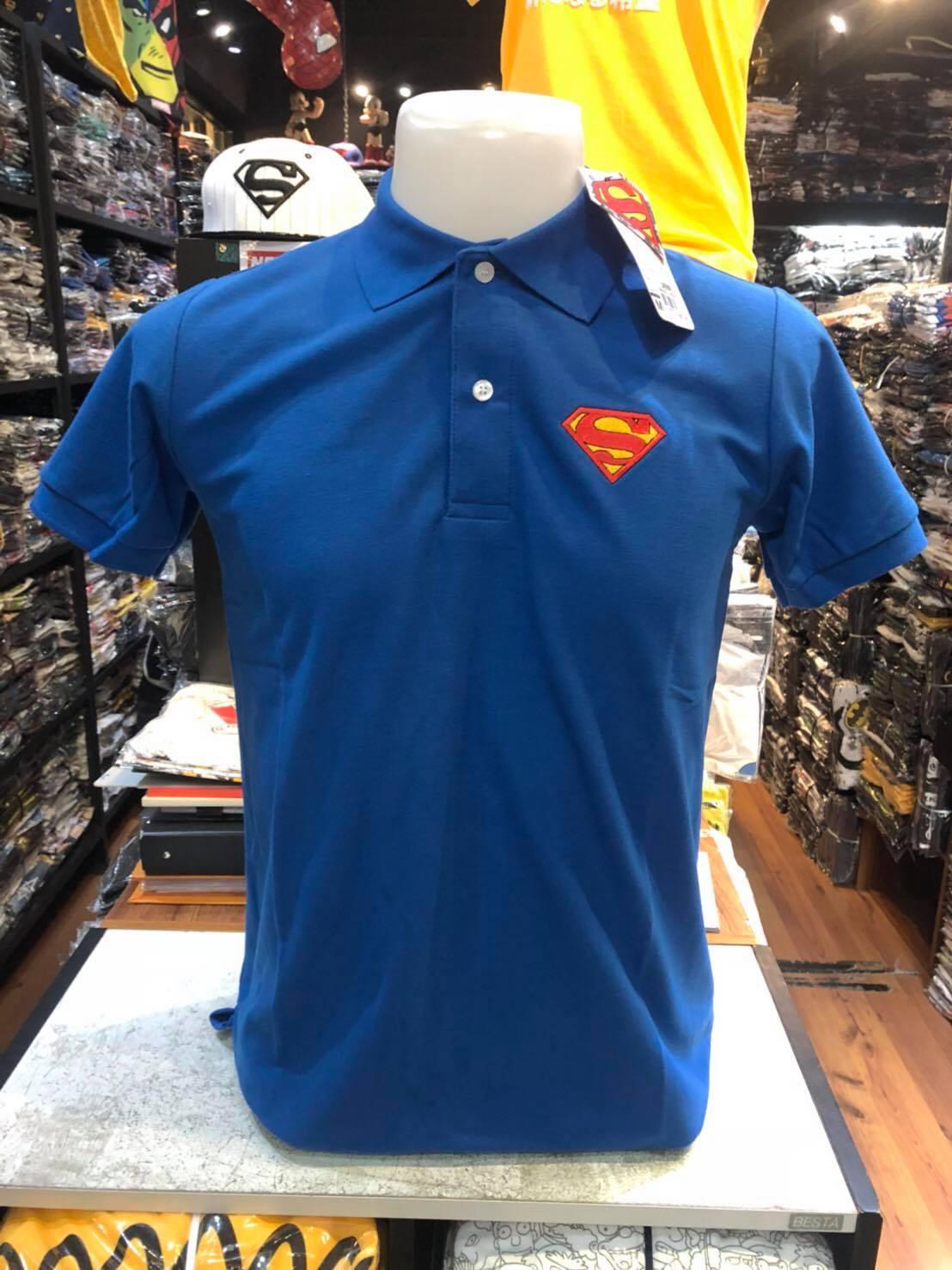 ซุปเปอร์แมน โปโล สีน้ำเงิน (Superman Polo Blue CODE:1059)