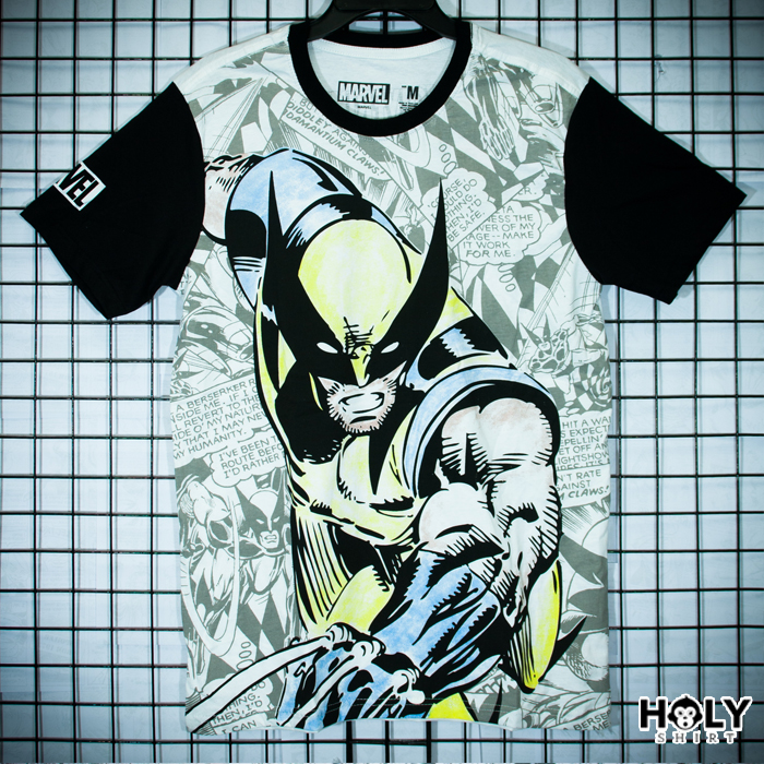 วูฟเวอรีน สีขาว (Wolverine white)