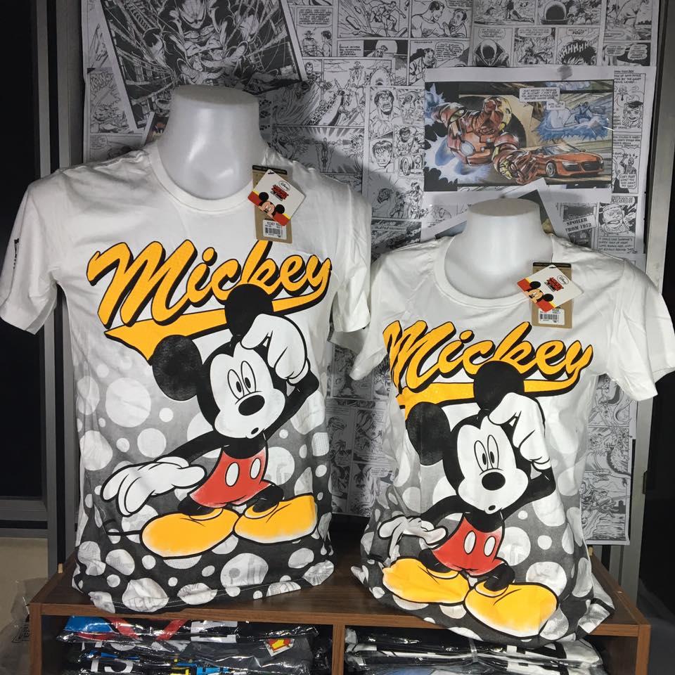 มิ้กกี้เมาส์ สีขาว (MKH-Mickey think)