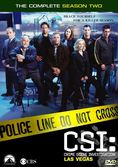 CSI: Vegas Season 2 / ไขคดีปริศนา เวกัส ปี 2 / 6 แผ่น DVD (พากษ์ไทย+บรรยายไทย)