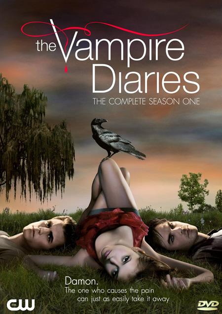The Vampire Diaries Season 1 / บันทึกรักเทพบุตรแวมไพร์ ปี 1 / 5 แผ่น DVD (บรรยายไทย)