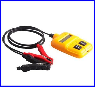 เครื่องวัดแบตเตอรี่ มิเตอร์วัดแบตเตอรี่ เครื่องวิเคราะห์แบตเตอรี่ วัดแบตเตอรี่ Battery Analyzer IR, CCA, Voltgage