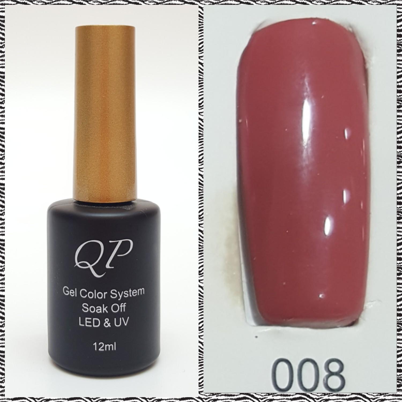 สีเจล QP 12ml. #008