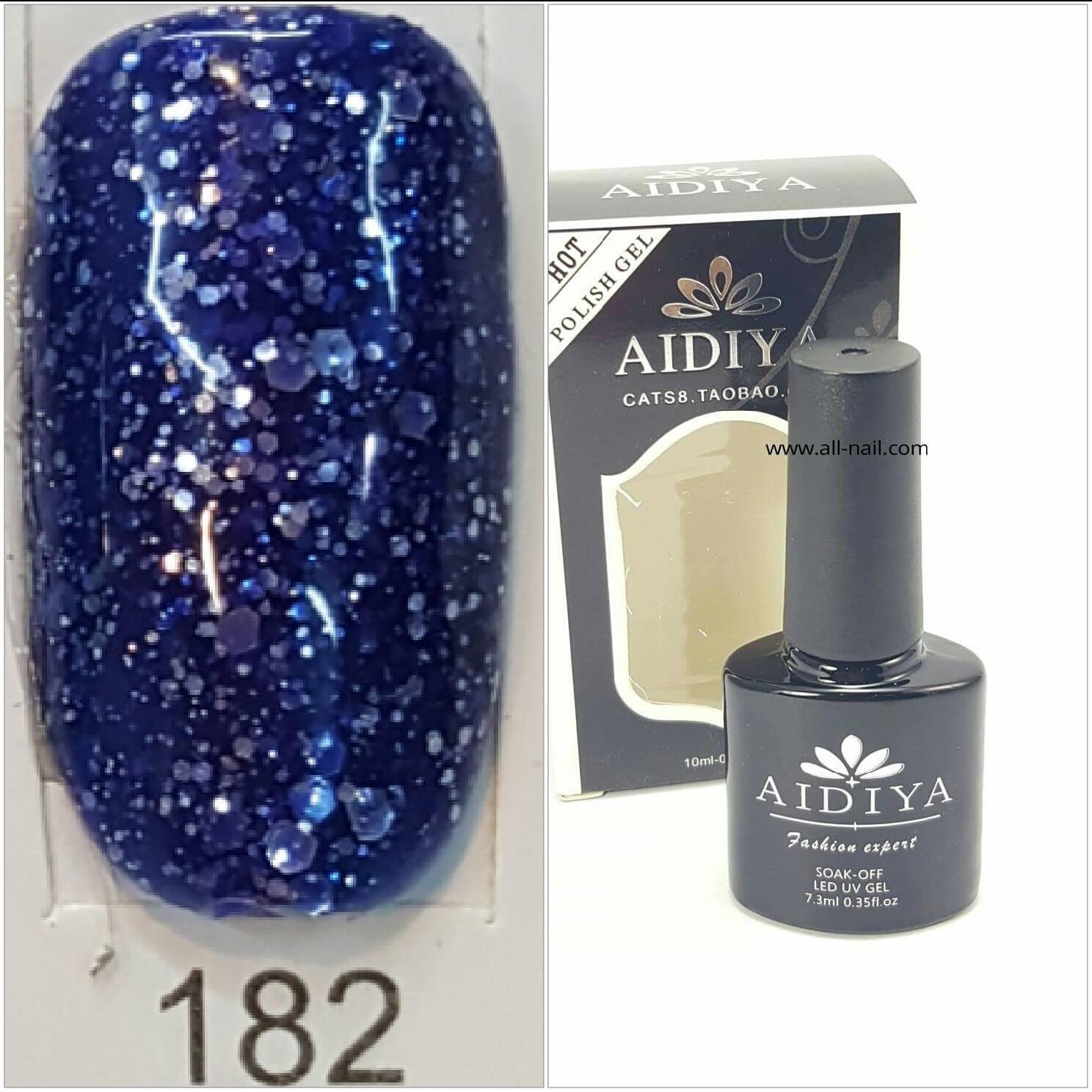 สีเจลทาเล็บ AIDIYA #182