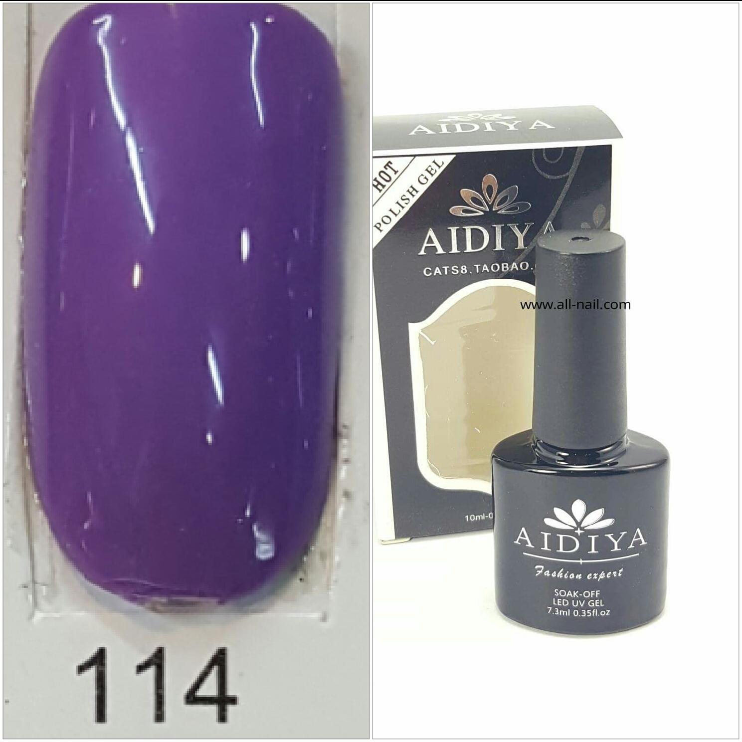 สีเจลทาเล็บ AIDIYA #114