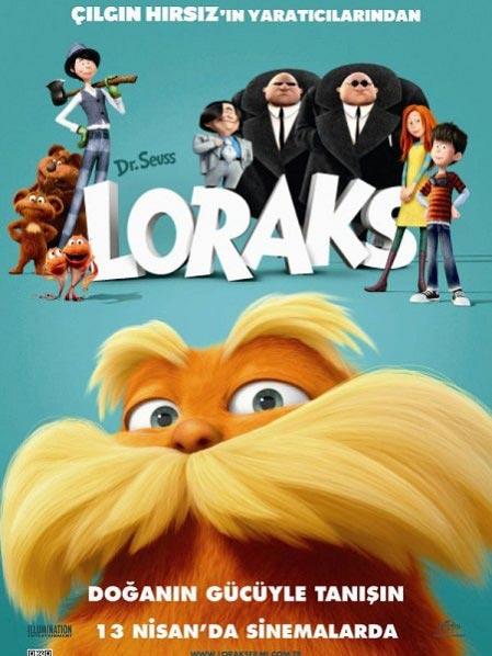 Dr. Seuss' The Lorax / คุณปู่โรแลกซ์ มหัศจรรย์ป่าสีรุ้ง / 1 แผ่น DVD (พากษ์ไทย+บรรยายไทย)