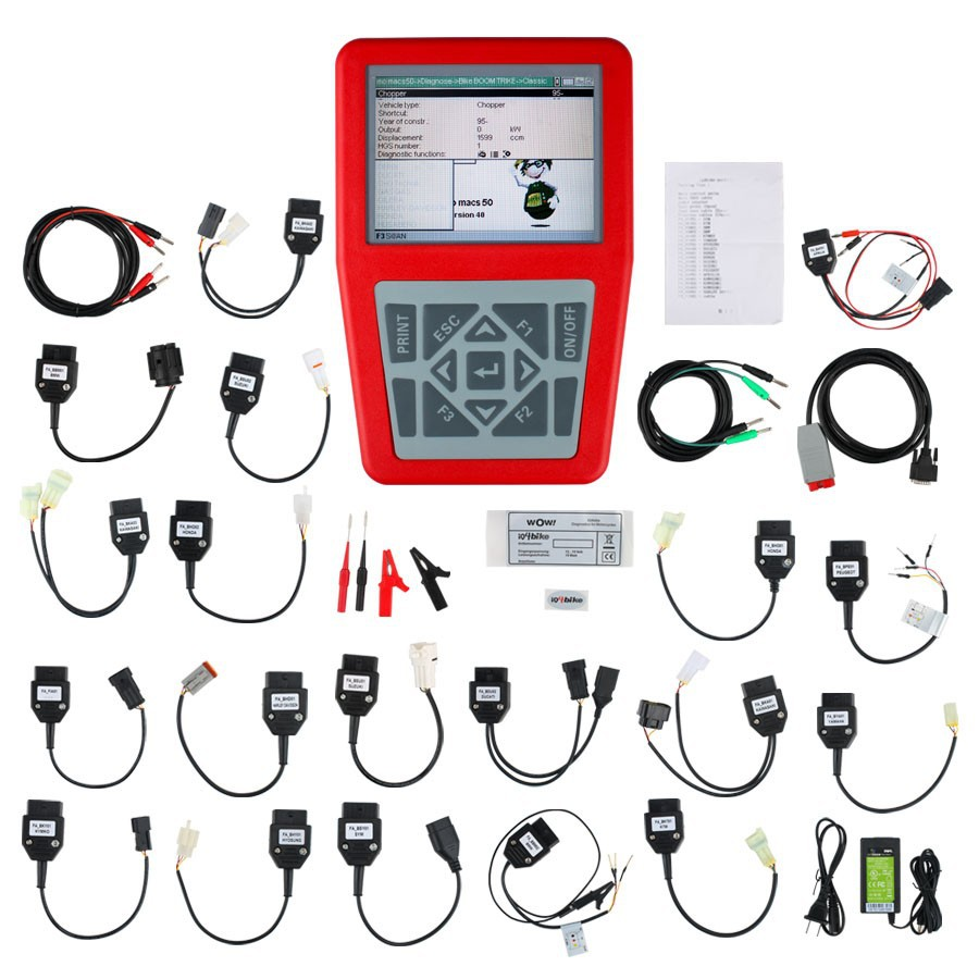 แบบส่งเร็วiQ4bike Diagnostics for cles Universal Motobike Scan Tool