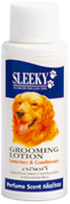 โลชั่นบำรุงขนสุนัข SLEEKY สีน้ำเงิน-กลิ่นน้ำหอม ขวดเล็ก 40 ซีซี