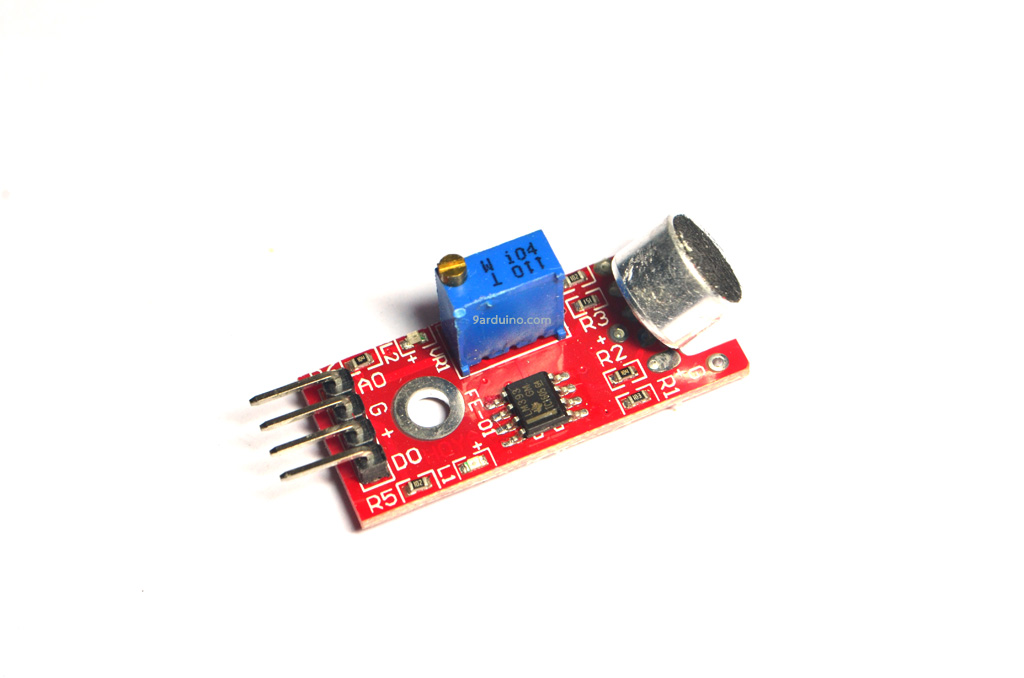 High Sensitivity Sound Microphone Sensor Detection Module เซนเซอร์เสียง KY-037 For Arduino