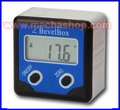 เครื่องมือวัดองศา เครื่องมือวัดมุมดิจิตอล มิเตอร์วัดมุม มิเตอร์วัดองศาดิจิตอล 360องศา Digital Bevel Box Gauge Angle Protractor Inclinometer