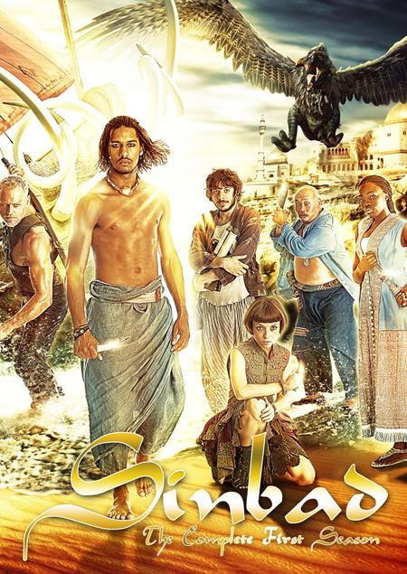 Sinbad Season 1 / ซินแบด ผจญล่าผ่ามหาสมุทร ปี 1 / 4 แผ่น DVD (พากษ์ไทย+บรรยายไทย)