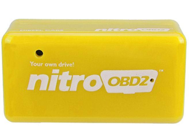 OBD2 Nitro benzin chip Tuning Box Benzine (Yellow)