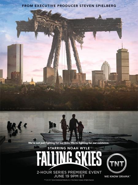 Falling Skies Season 1 / สงครามวันกู้โลกปี 1 / 3 แผ่น DVD (บรรยายไทย)