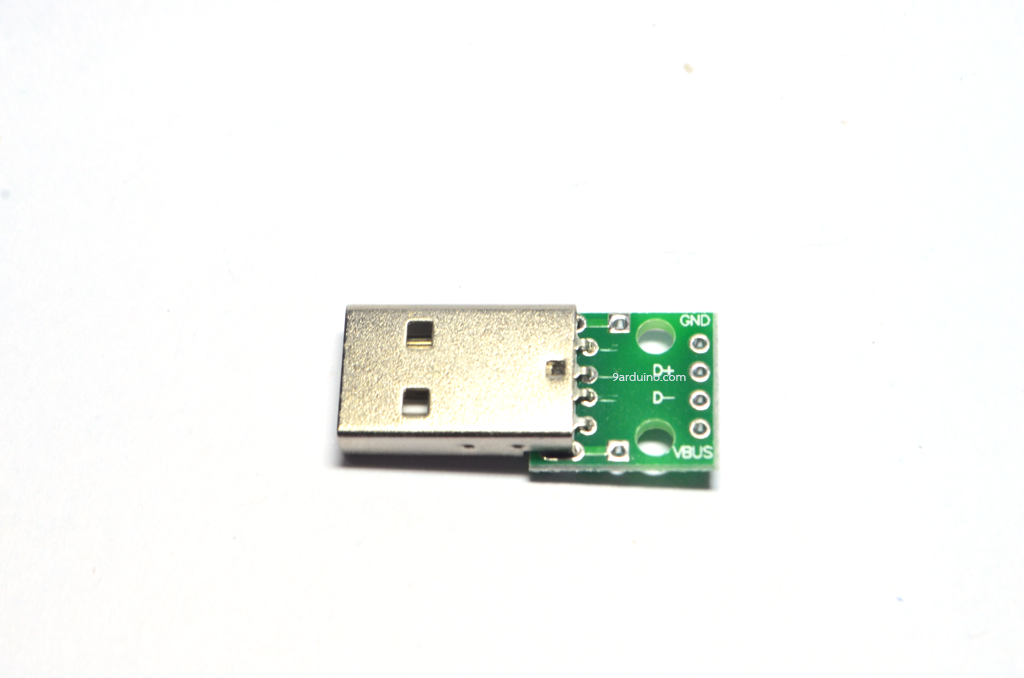 Usb socket USB plug A Male (PCB)