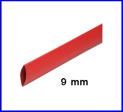 ท่อหด ท่อหุ้มสายไฟคุณภาพ 9มม. KUHS 225 สีแดงความยาว1เมตร