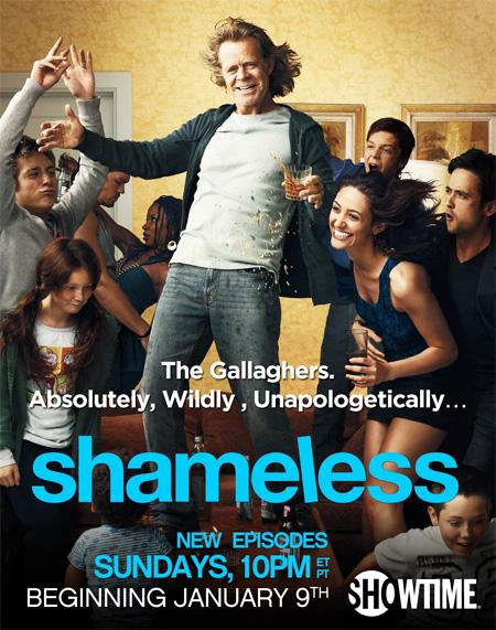 Shameless Season 1 / ครอบครัวถึงรั่วก็รัก ปี 1 / 3 แผ่น DVD (บรรยายไทย)