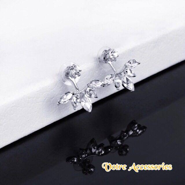 Crystal golden Earrings