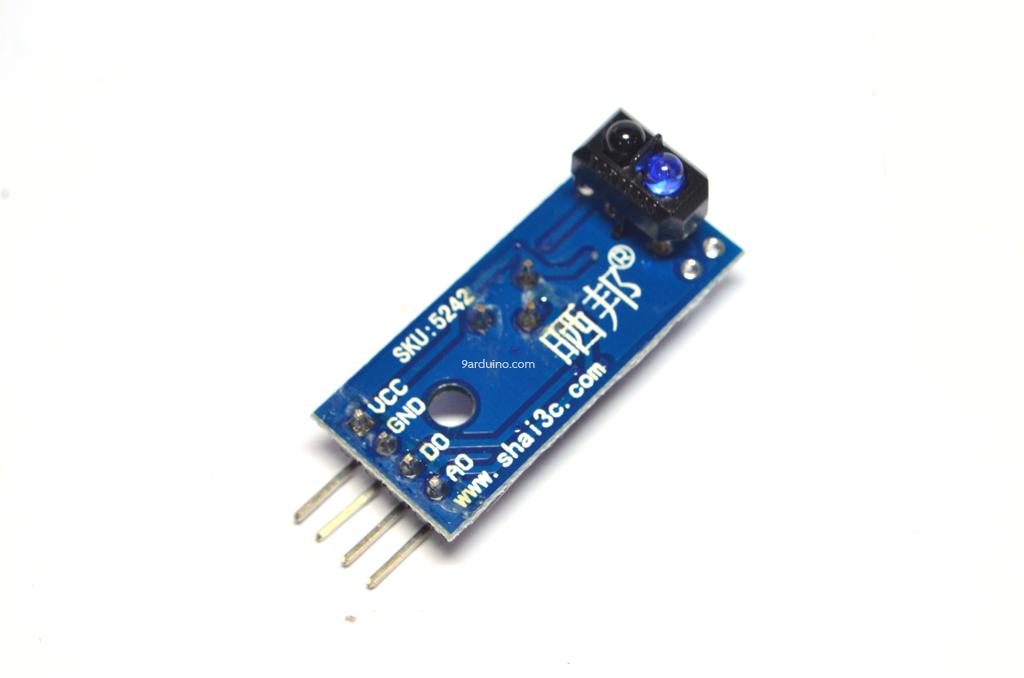 TCRT5000 Sensor Modules จับสี ขาวดำ (Reflective sensor)