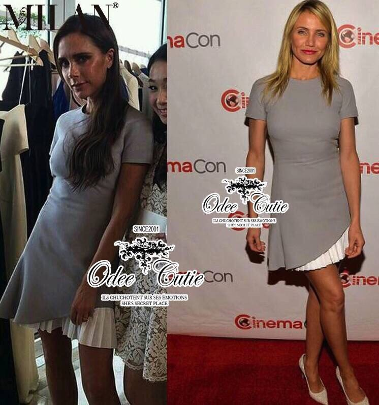 Victoria Beckhams simply mini dress