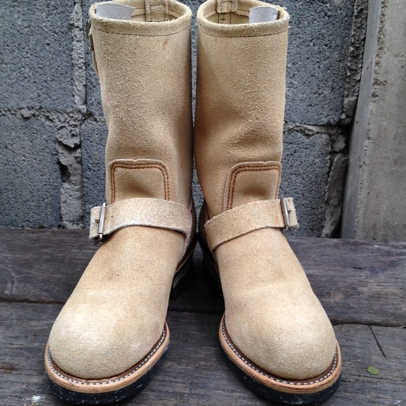 *9RED WING 8268 Engineer หัวเหล็ก made in USA size 5.5D*