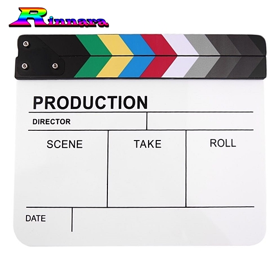 slate film แคลปบอร์ด(Clapboard)
