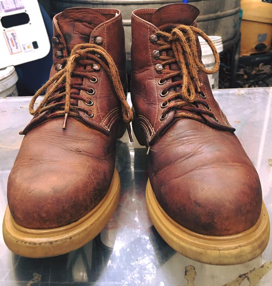 .Vintage RED WING ยุค90 size 7