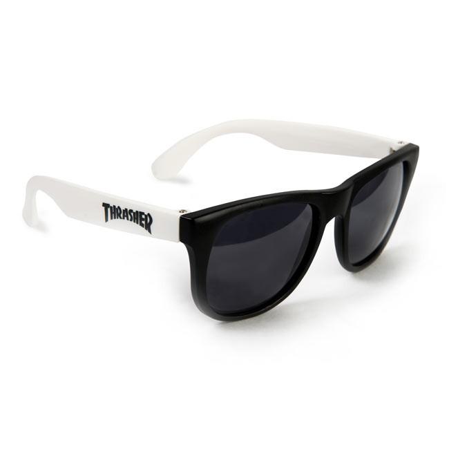 Thrasher White Sunglasses