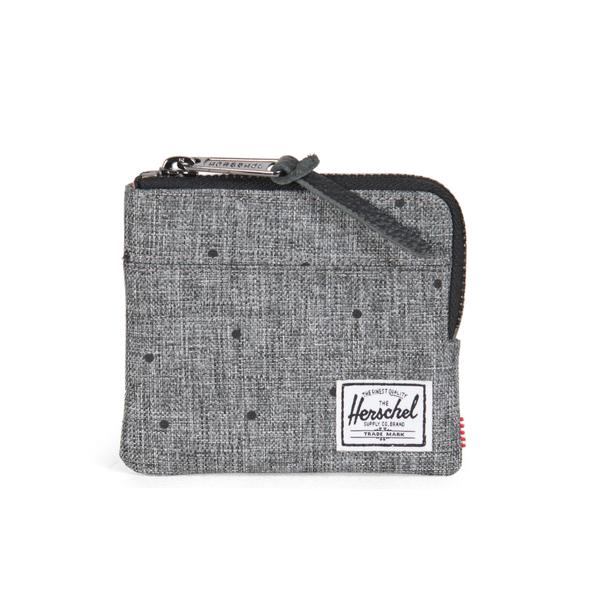 Herschel Johnny Wallet - Scattered Raven Crosshatch