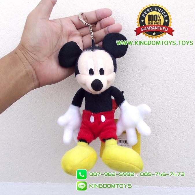 พวงกุญแจมิกกี้เมาส์ Standard 7 นิ้ว [Disney]
