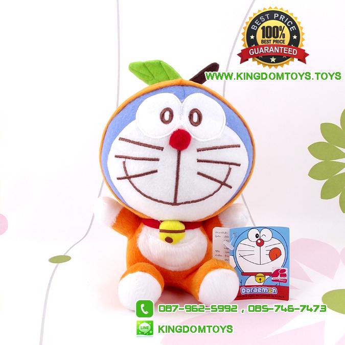 ตุ๊กตา โดเรม่อน ชุดส้ม 7 นิ้ว [Fujiko Pro]