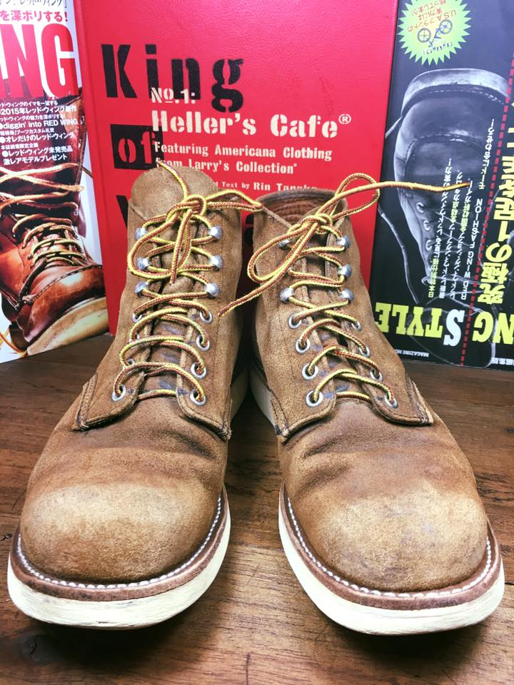12. Vintage RED WING 8181 made in USA size 8.5D