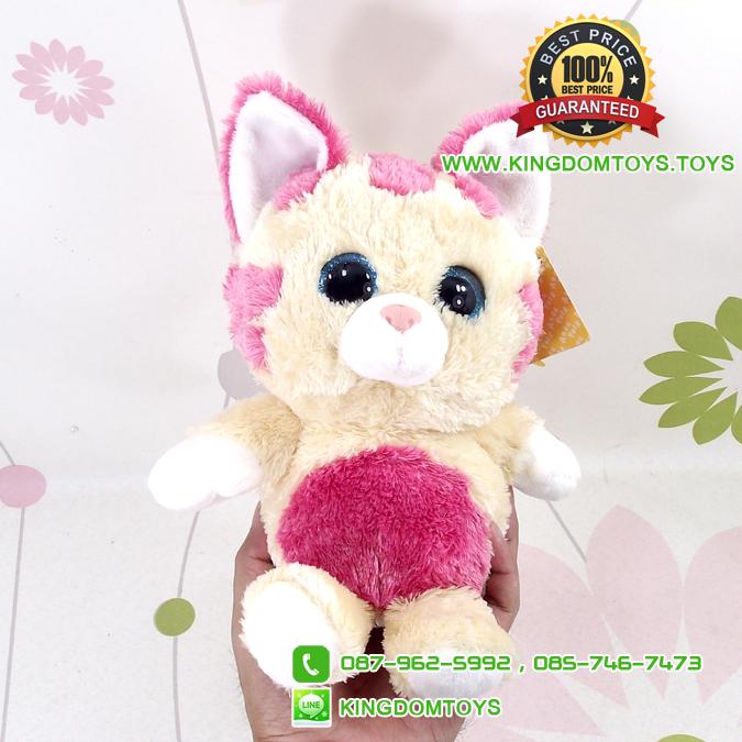 ตุ๊กตา น้องแมวตาโต มีเสียง 7.5 นิ้ว [Anee Park]