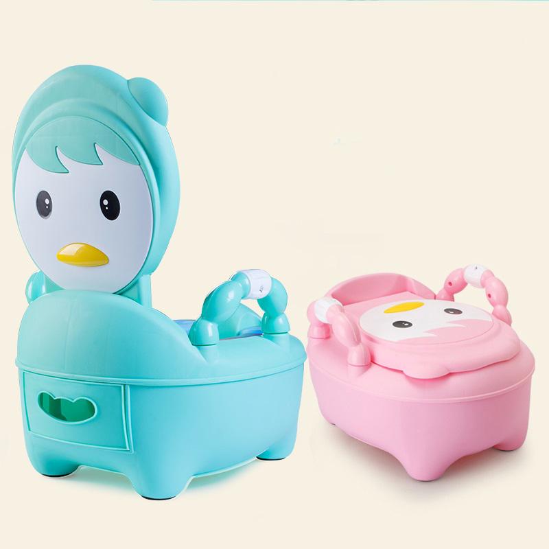 กระโถนฝึกขับถ่าย เป็ดน้อย Baby Pot Little Duck