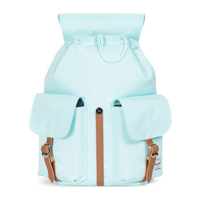 Herschel Dawson Backpack   XS - Blue Tint เปิดปิดง่ายตัวล็อคแบบแม่เหล็ก