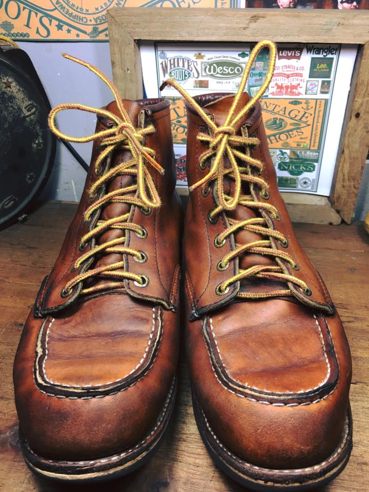 *3.Vintage Red wing 875 size 8.5D*