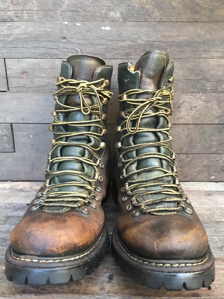 VTG Herman boots size 10