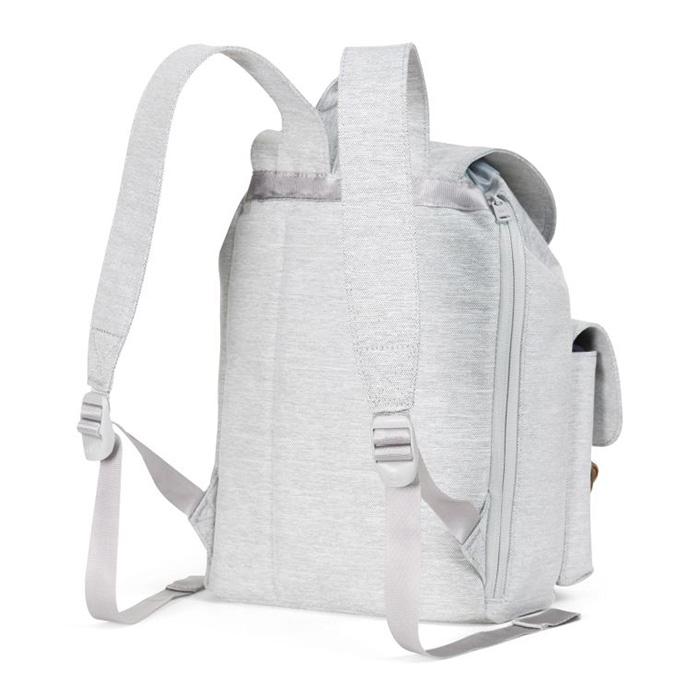 Herschel Dawson Backpack | XS - Light Grey Crosshatch สายสะพายปรับขนาดได้
