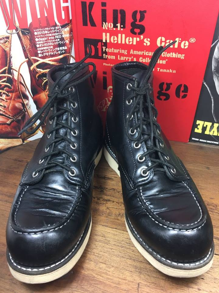 11. RED WING 8130 size 9.5D