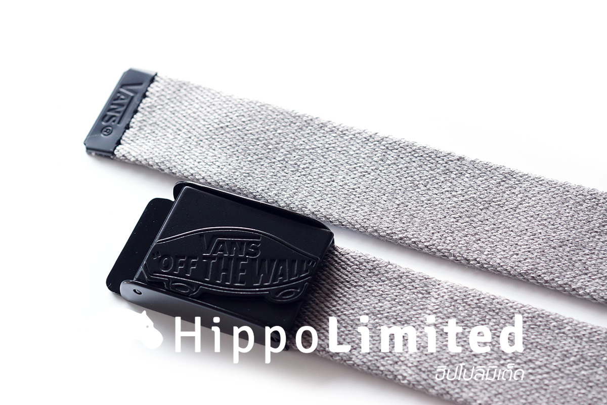 Vans Conductor Web Belt - Grey
