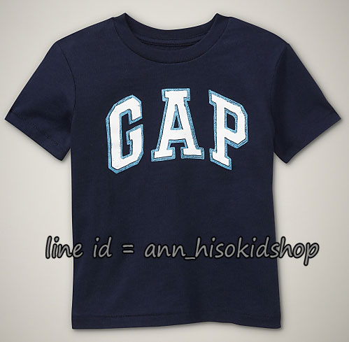 1741 Baby Gaps T-Shirt - Navy Blue ขนาด 5 ปี