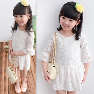 ชุดเดรสผ้าลูกไม้สีขาวสวยมากๆ มีซับใน เนื้อผ้าดีนุ่มมาก งานดีใส่แล้วสวยมากค่ะ