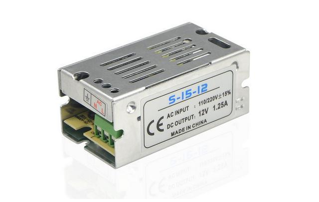 Power Supply 12VDC 1.25A