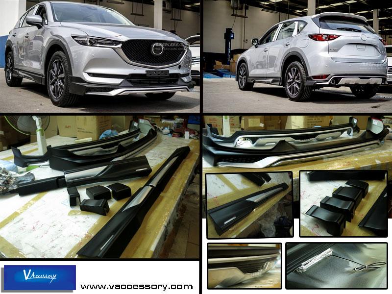 ชุดสเกิร์ตรอบคัน All New 2018 Mazda CX-5