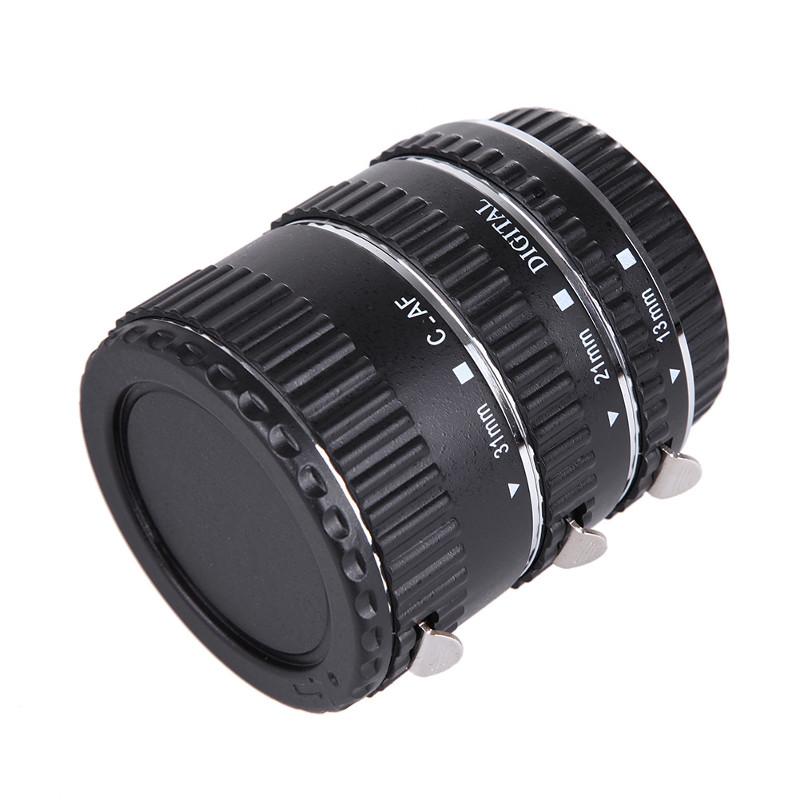Canon EOS EF EF-S Auto Focus Macro Extension ท่อมาโคร ออโต้โฟกัส เมาท์โลหะ Stainless
