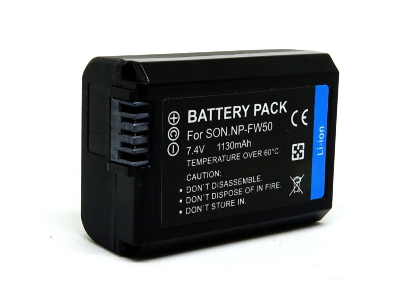 Sony NP-FW50 Camera Battery แบตเตอรี่กล้อง โซนี่ for A6500 A6300 RX10 A7 A3500 NEX-6