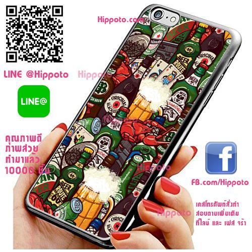เคส ไอโฟน 6 / เคส ไอโฟน 6s เหล้า ไพ่ เคสสวย เคสโทรศัพท์ #1032