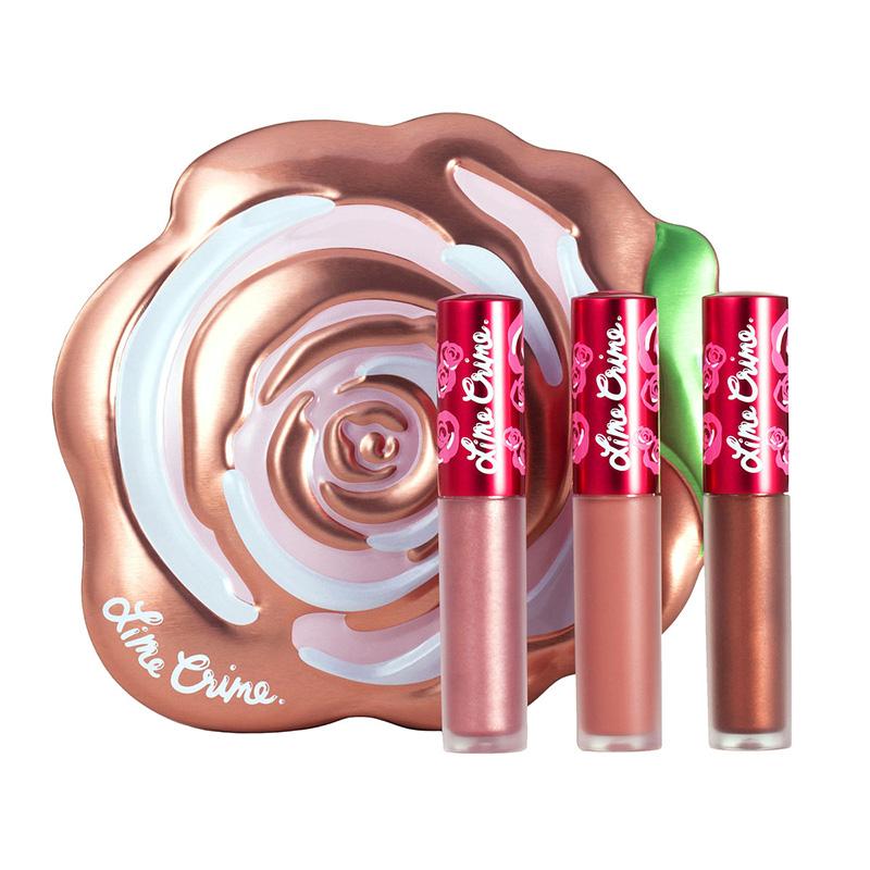 Lime Crime Velve-Tin (Mini Velvetines Boxed Set) #Champagne Velve-tin