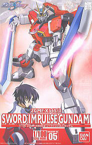 มี1 รอยืนยันก่อนโอน 32131 05 sword impulse (Gundam Model Kits) 2300yen