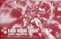 Gundam Base Tokyo HG Kamiki Burning Gundam Plavsky Particle Clear